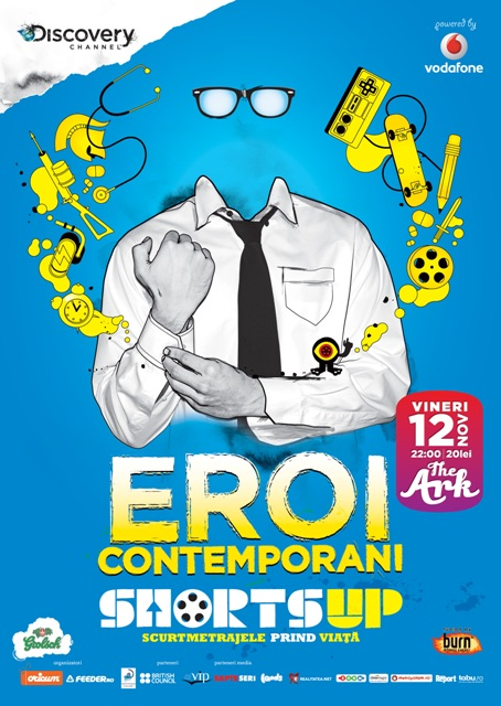 Afis Eroi Contemporani