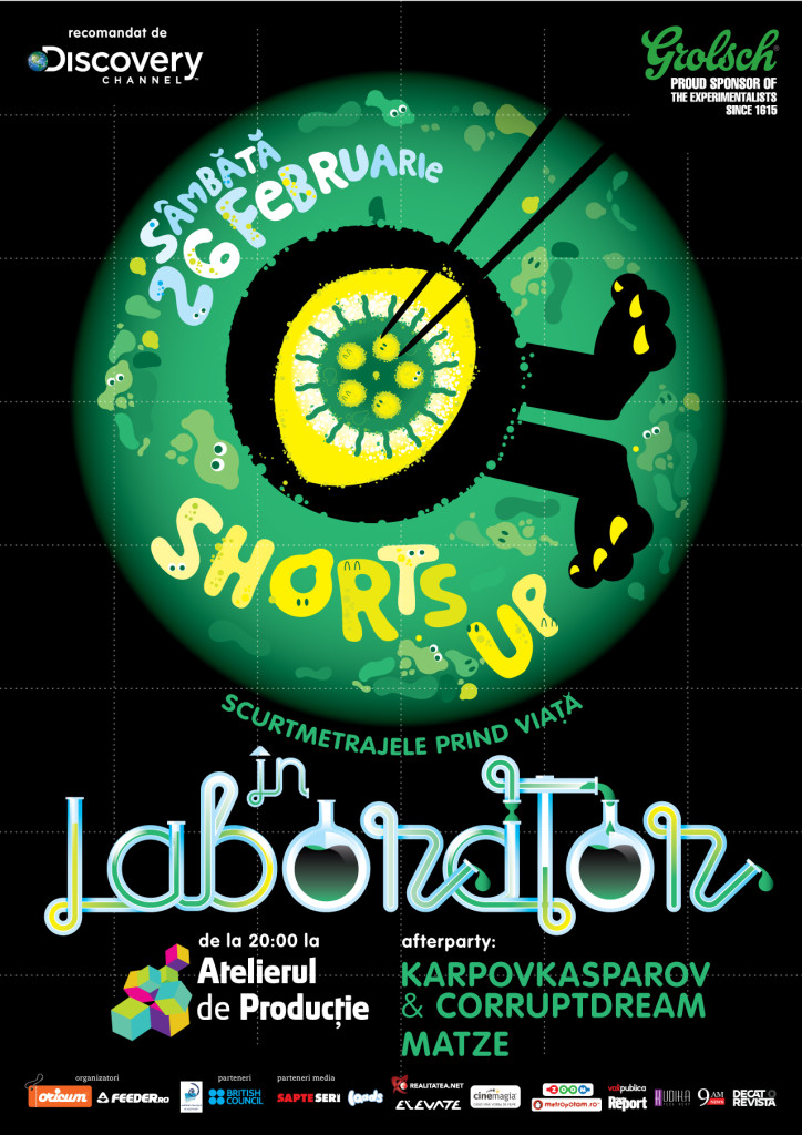 ShortsUP In Laborator